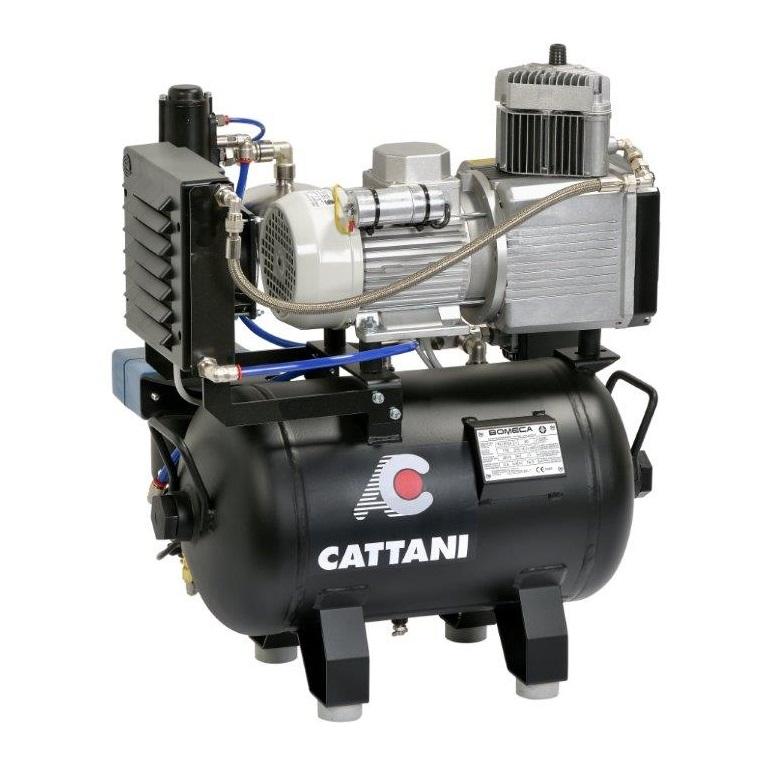 compresor dental AC200 Con secador Cattani