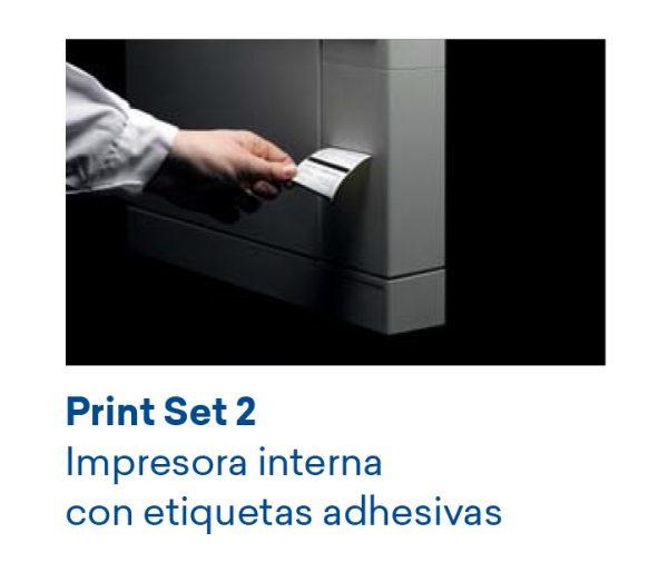 Autoclave Euronda E8 24 litros impresora etiquetas adhesivas
