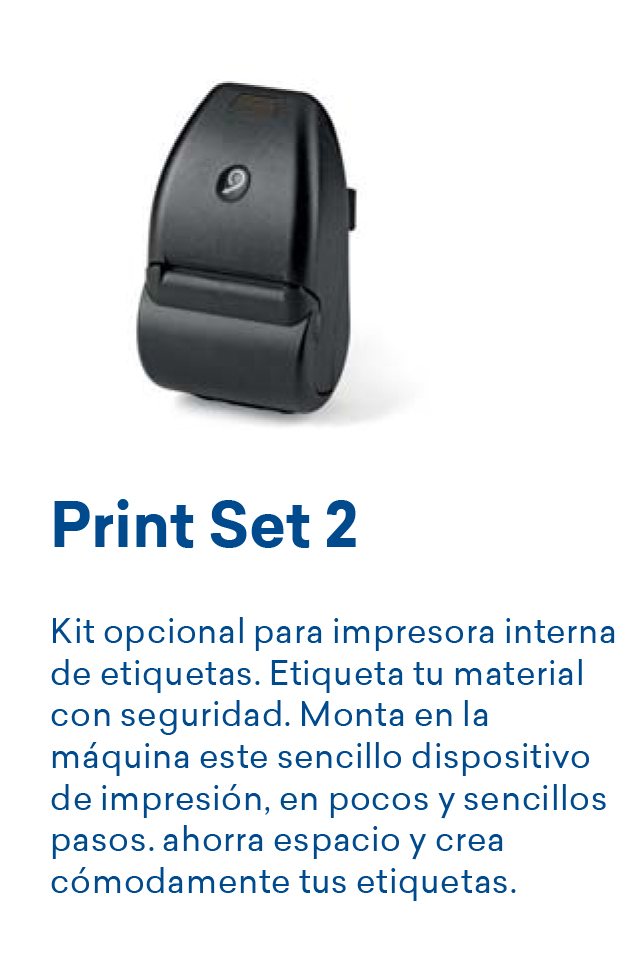 Impresora etiquetas adhesivas autoclave Euronda E8 24 litros
