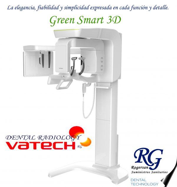 3D Vatech Pax-i Green Smart 12X9, 5X5