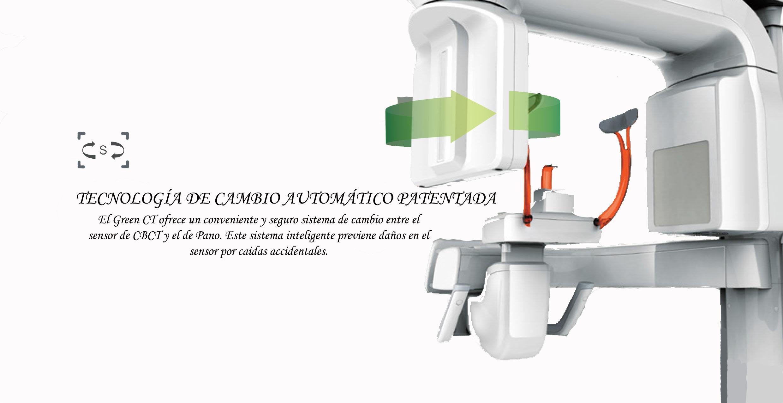 Rayos X dental panorámico Pax-u 3d Green Vatech