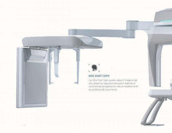 Sistema One Shot Ceph Radiografía dental ortodoncia de Vatech