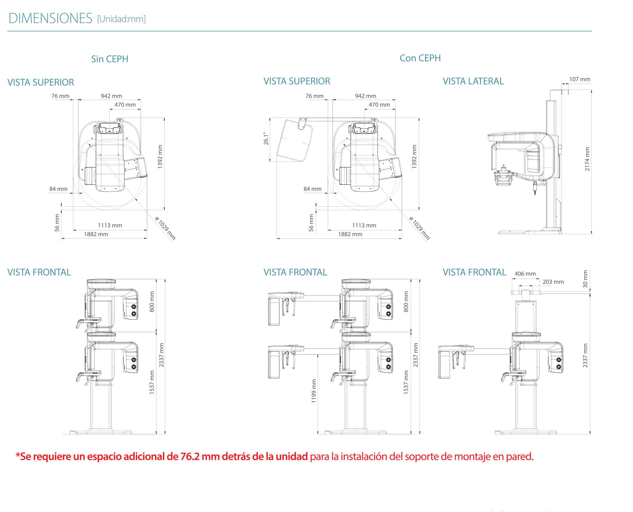 Para la instalación de nuestro Smart Plus 3D de Vatech