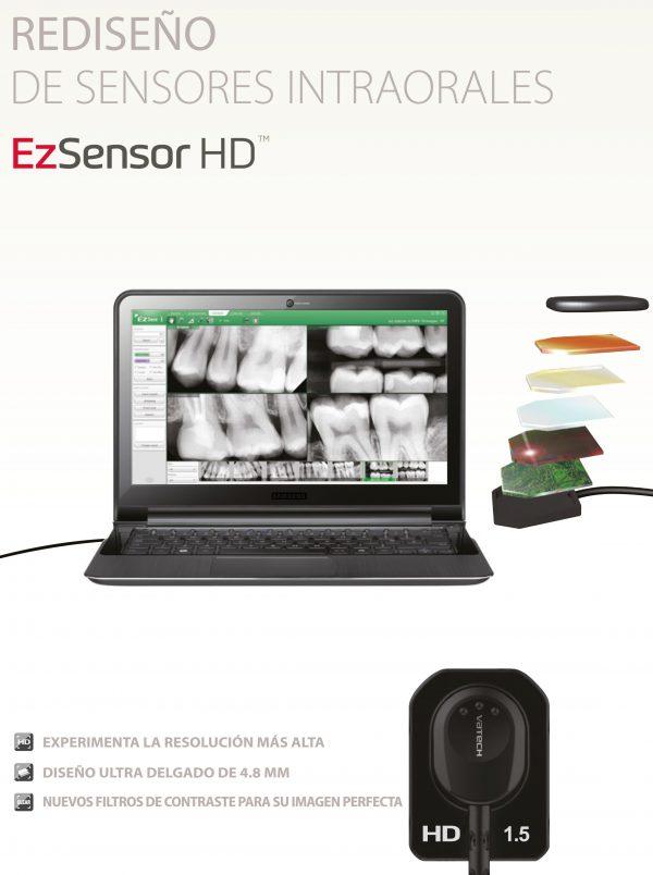 Captador intraoral EzSensor HD Vatech