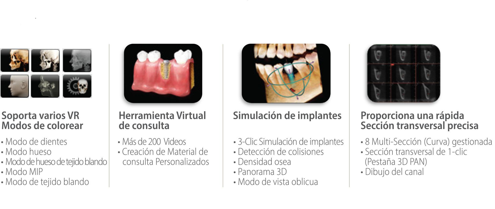 Rayos X dental precio variedad de herramientas 3D con Ez3D-i