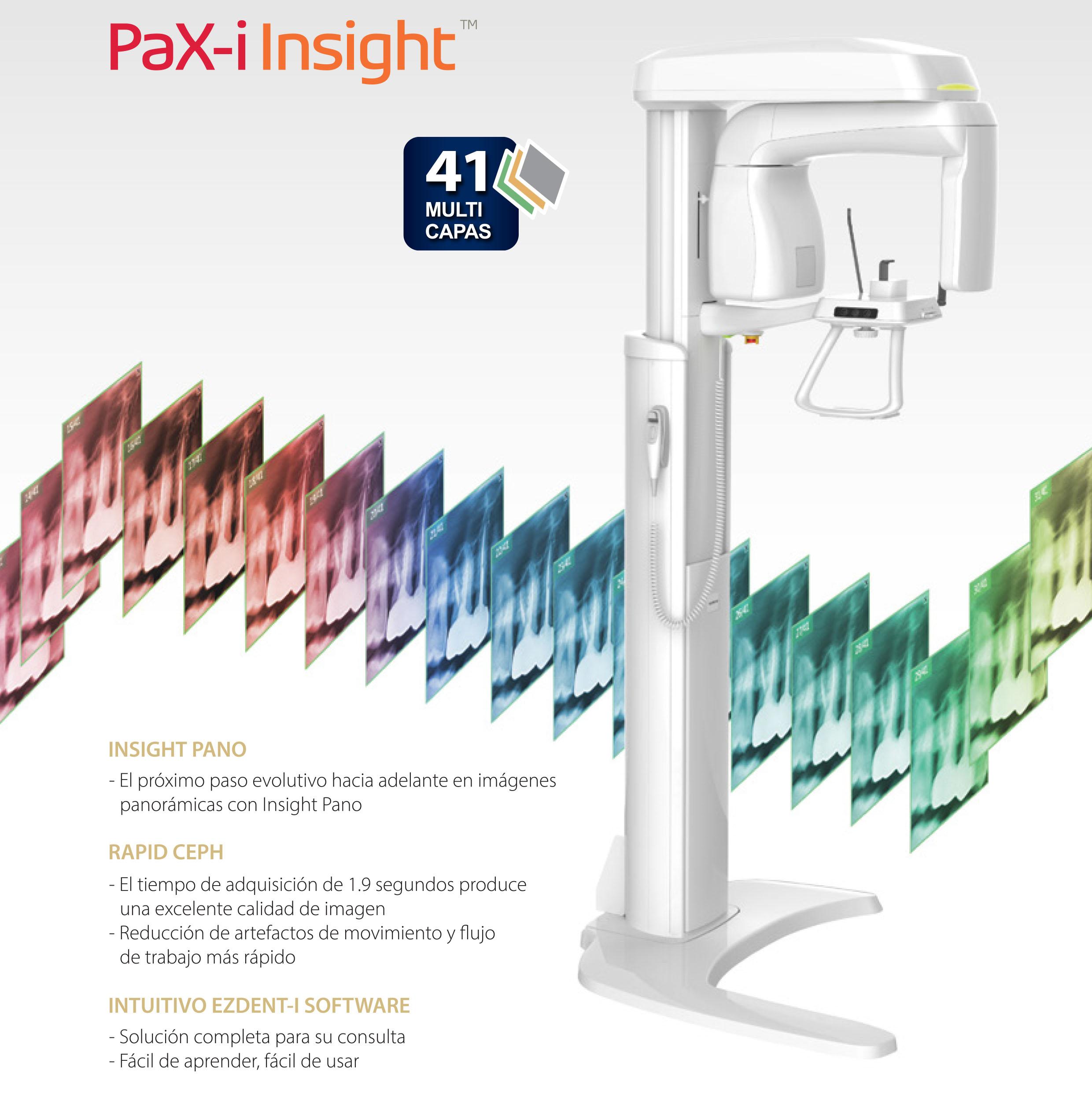 Rayos X dental precio Pax-i Insight
