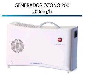 Generador Ozono Portátil 200