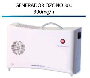Generador Ozono Portátil 300
