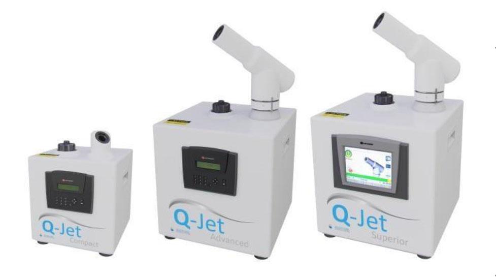 Desinfección Sanosil Q-Jet de la Clínica Dental y Comercio