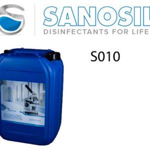 Desinfección de la Clínica Dental, Comercio y Centro de trabajo. Desinfectante Sanosil S010
