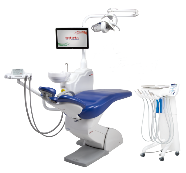 Sillón dental Miglionico Carro