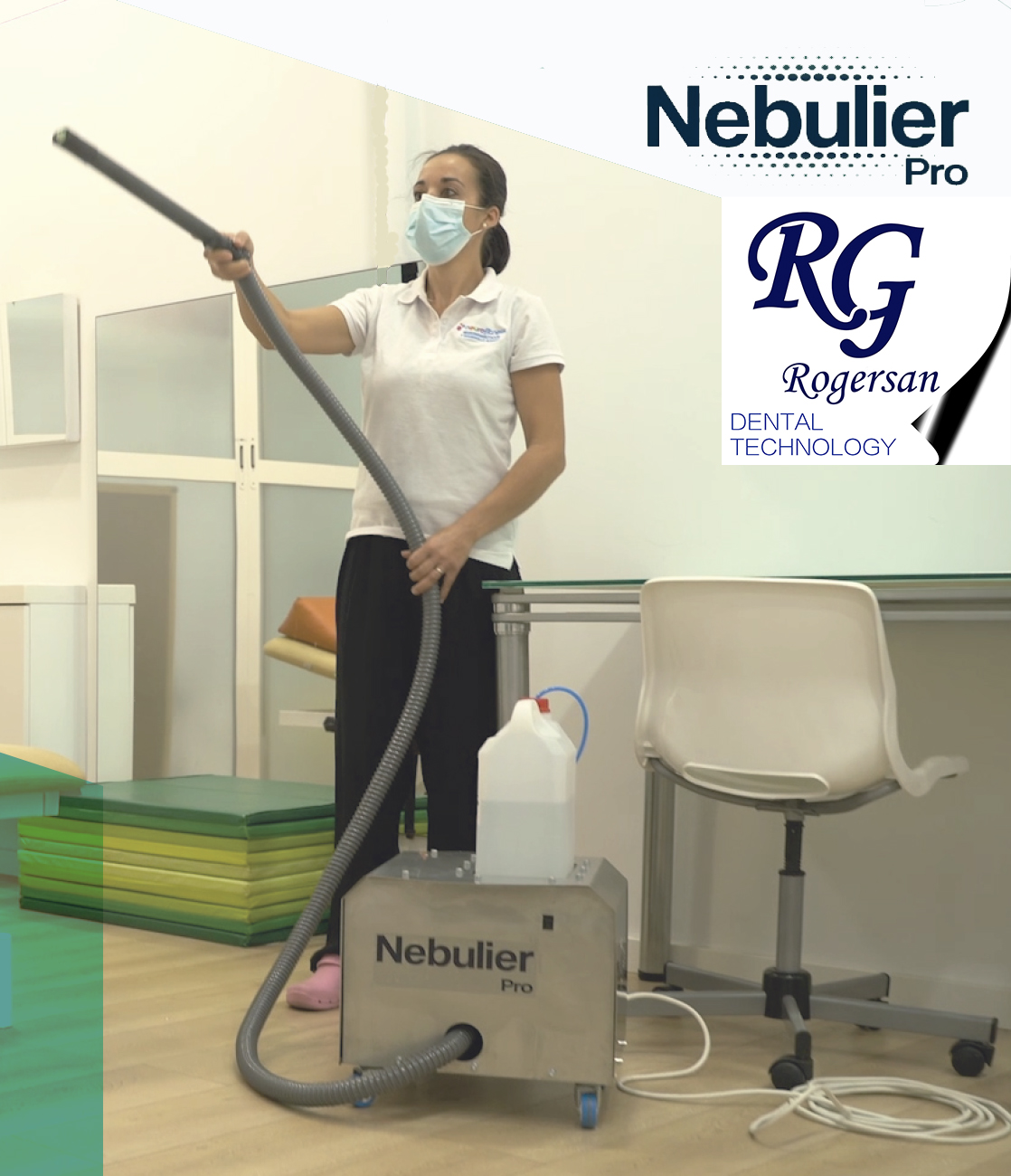 Nebulizador desinfectante Nebulier Pro